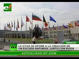 La OTAN se opone a la creación de un escudo antimisil junto con Rusia