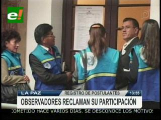 Comisión no permite a los Observadores Internacionales ver el registro de postulantes a las elecciones judiciales