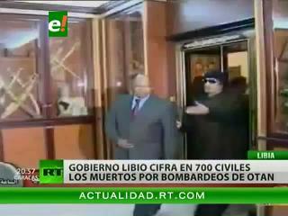 Gobierno libio denuncia que los bombardeos de la OTAN causaron 718 víctimas civiles
