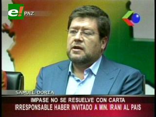 «Impase con Argentina no se arregla con una carta, fue un error invitar al Ministro iraní»