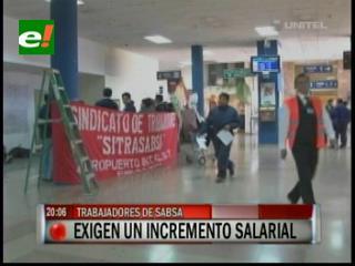 Trabajadores de Sabsa inician huelga de hambre a nivel nacional, exigen incremento salarial