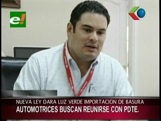 "Cámara Automotriz de Bolivia rechaza Ley de Amnistía para vehículos ""chutos"""