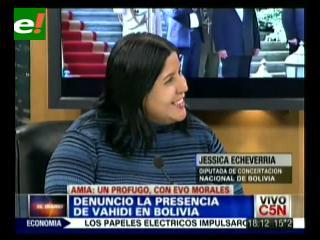 Diputada Echeverría habló sobre la presencia del Ministro iraní en Bolivia ante un medio argentino