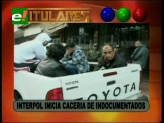 Interpol realiza operativos en busca de extranjeros indocumentados en Santa Cruz, hay 20 detenidos