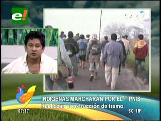 Cidob ratifica marcha en defensa del TIPNIS