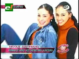 """Hermana de Natali Justiniano sería parte del elenco de """"La Batidora"""""""