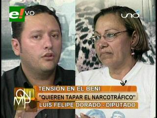 """Diputado Dorado: """"El Gobierno está tensionando el Beni para tapar el aumento del narcotráfico en el país"""""""