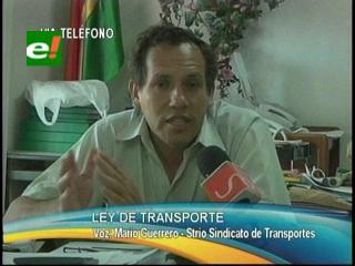 Transportistas piden que el Estado sea el regulador del servicio