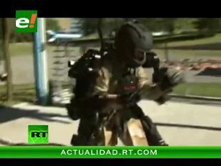 """Un """"exoesqueleto"""" que convierte a los soldados en """"súper-hombres"""""""
