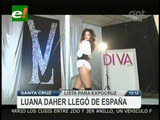 Loana Daher prepara su nuevo book, está lista para la Expocruz 2011