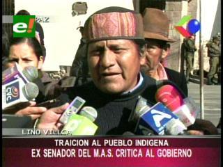 """Lino Villca: """"Evo Morales está traicionando a los indígenas y destruyendo la madre tierra"""""""