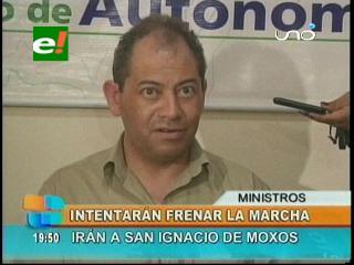 Gobierno intentará frenar la marcha indígena, irán a San Ignacio de Moxos