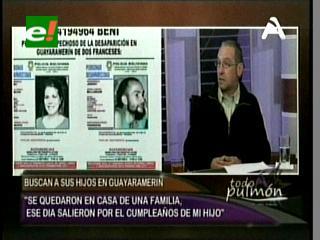 Padres de las víctimas llegan desde Francia en busca de los cuerpos de su hijo y su esposa