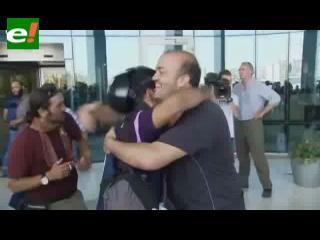 Libia: periodistas celebran su liberación del hotel Rixos