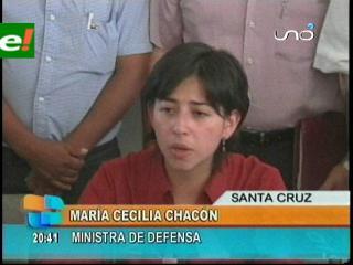 Ministra de Defensa niega incursión de militares bolivianos en territorio peruano