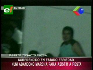 """Sorprenden al diputado Pedro Nuni """"farreando"""", Gobierno critica"""