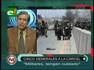 """Alvin Anaya: """"El Alto Mando tiene que manifestarse sobre la sentencia de octubre negro"""""""