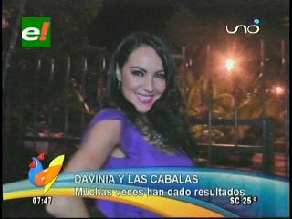Davinia Fernández y las cábalas de Año Nuevo