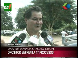 Senador Pinto denuncia que el Gobierno intenta cesar función fiscalizadora de parlamentarios