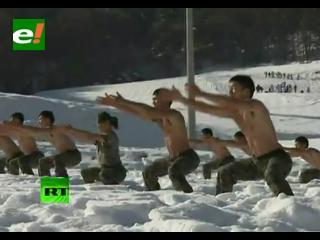 Corea del Sur prepara a sus «súper soldados»