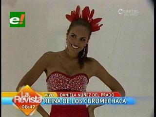 Daniela Núñez del Prado es la Reina de la agrupación Curumechaca