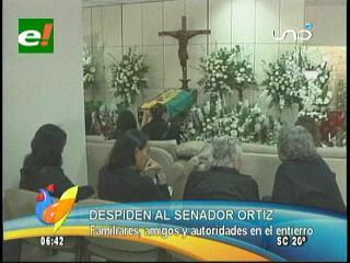 Senador Gerald Ortiz recibe cristiana sepultura