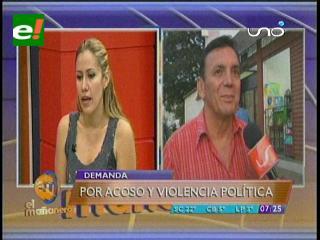 Concejales mujeres denuncian a Freddy Soruco por acoso político