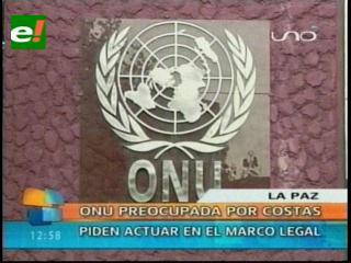 ONU preocupada por Rubén Costas, piden actuar en el marco legal