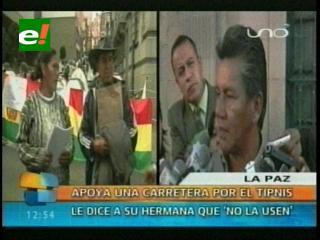 Hermano le pide a Bertha Bejarano no dejarse utilizar por los partidos políticos
