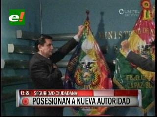 Henry Baldelomar asume como Viceministro de Seguridad Ciudadana