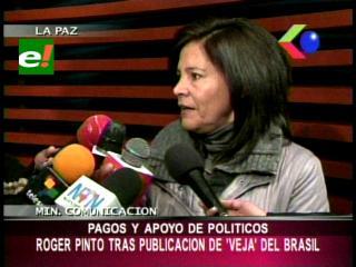 Gobierno cree que publicación de Veja está vinculada con Roger Pinto