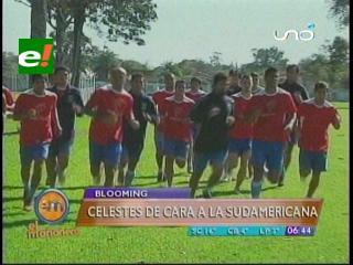 Blooming se prepara de cara a la Copa Sudamericana