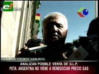 """Ministro de Hidrocarburos: """"No se negociará el precio de gas con Argentina"""""""