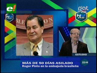 """Diputado Oliva: """"El caso de Roger Pinto pone en evidencia que los derechos humanos no se respetan en el país"""""""