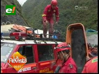 Suman 14 muertos en accidente en Chulumani-Unduavi