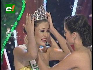 Maira Copas es Miss Santa Cruz 2013