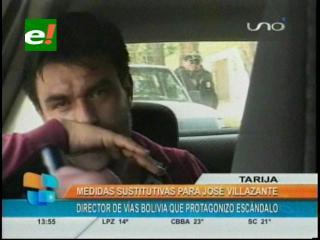 Justicia determina medidas sustitutivas para director de Vías Bolivia