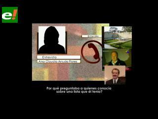 """Nuevo audio: Ana Claudia Arruda acusa a Marcelo Soza de """"usar el caso terrorismo para beneficio propio"""""""
