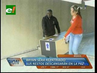 Esta noche llega repatriado el cuerpo de niño boliviano asesinado en Brasil