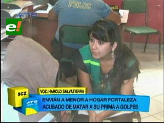 Presunto responsable de golpiza a niña fue enviado a un hogar