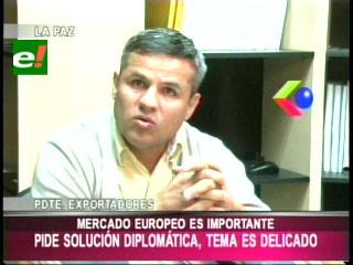 Caso avión presidencial: Exportadores piden solucionar conflicto con la UE por la vía diplomática