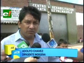 Adolfo Chávez no pudo reunirse con Boris Villegas en Palmasola