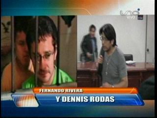 Justicia ordena que Rodas y Rivera vuelvan a Palmasola