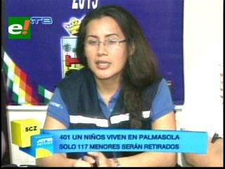 Familiares acogerán el 50% de niños que saldrán del penal de Palmasola
