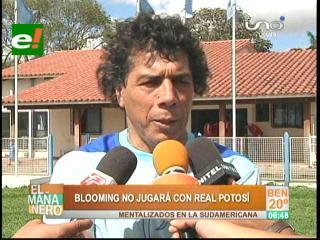 Blooming: Andrada decide no jugar la Copa Cine Center