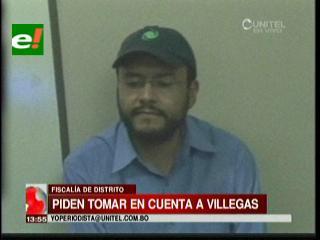 Piden tomar en cuenta a Boris Villegas en la investigación del audio de Marcelo Soza