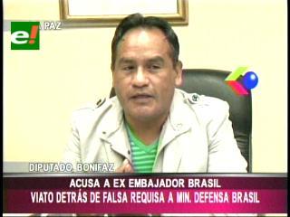 El MAS no reconoce requisa a aviones brasileños y culpa al ex embajador Biato