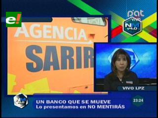 Agencia móvil del Banco Unión atenderá a más de 170.000 personas