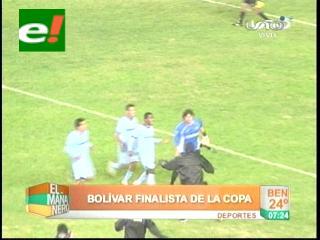 Derrotó a Wilstermann por penales: Bolívar clasifica finalista