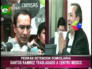 Piden detención domiciliaria de Santos Ramírez tras agravarse su enfermedad